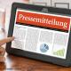 Pressemitteilung als Online-Marketinginstrument